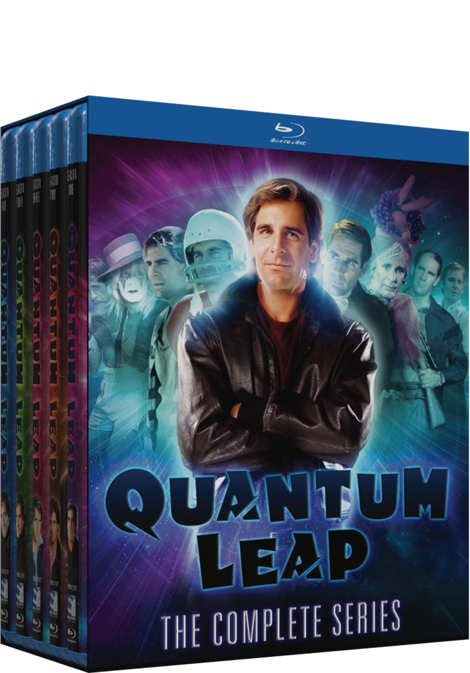 Quantum Leap: Complete Series - Blu-ray by Mill Creek
