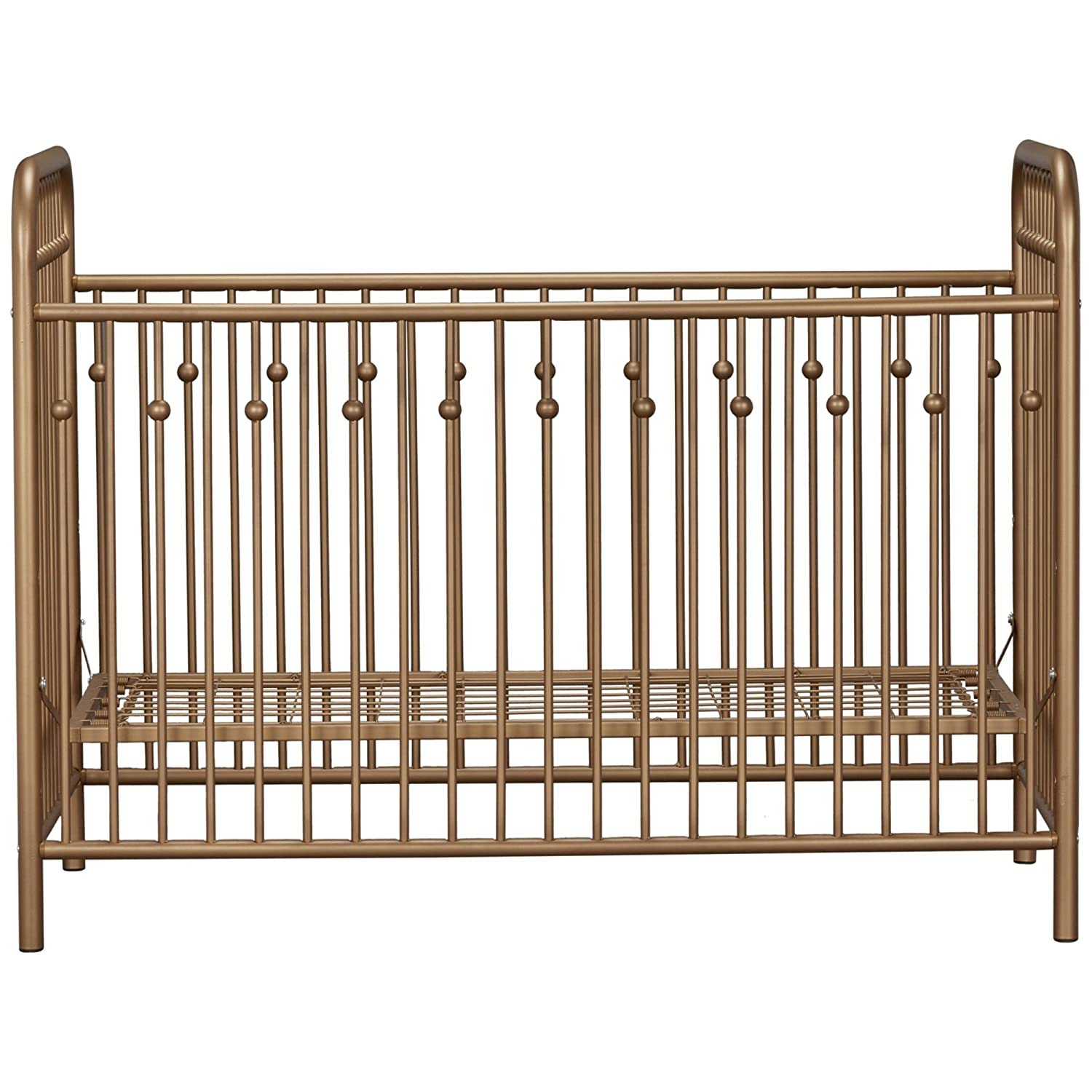 Little Seeds Monarch Hill Ivy Metal Crib, Pink Dorel