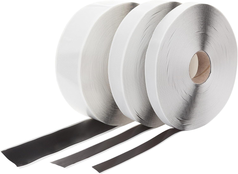L/änge: 10 Meter Dicke: 2 mm Butylband Schwarz beidseitig klebend 100 mm