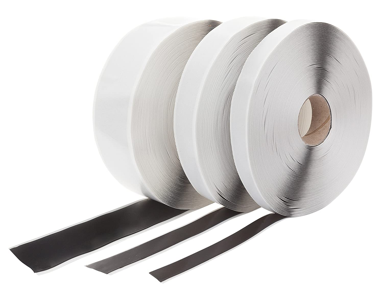 Butyl Tape Double Sided Choice of 15 mm/20 mm/50 mm Black, black esnado