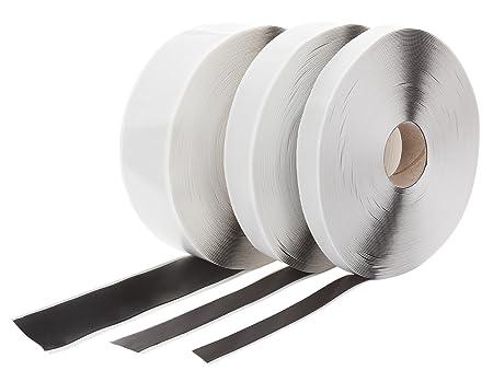 Negro 15 mm//20 mm//50 mm a elegir Cinta de butilo adhesiva por ambos lados