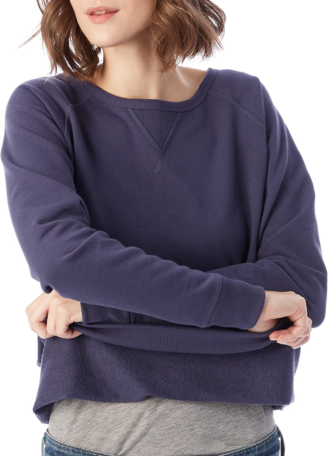 Alternative Damen Sweatshirt Navy
