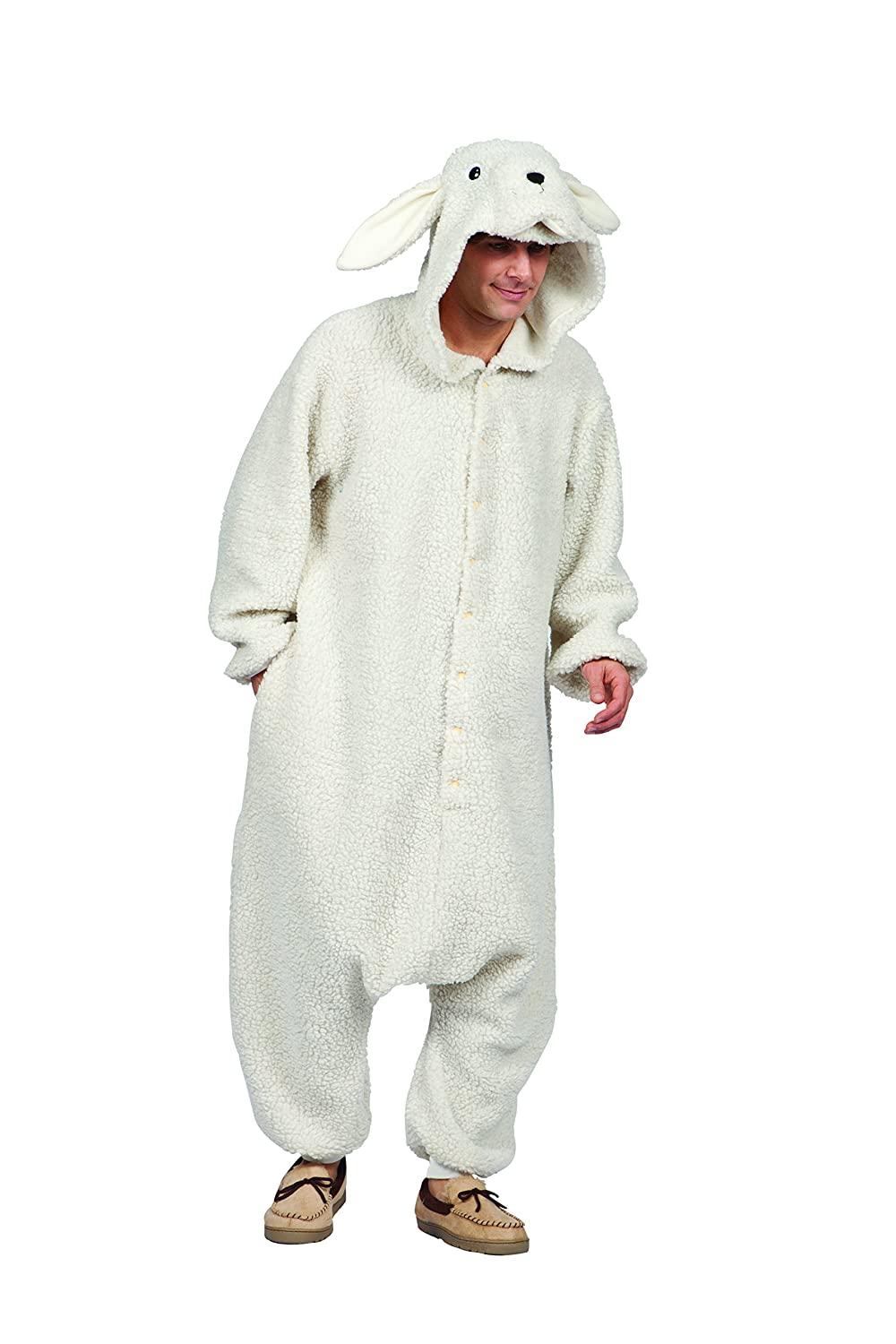 RG Costumes Men's Ollie The Sheep RG Costumes Ollie The Sheep White One Size 40085
