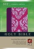 Compact Edition Bible NLT, Floral TuTone