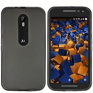 Mumbi (3ª generación) Carcasa Carcasa Motorola Moto G Negro Transparente