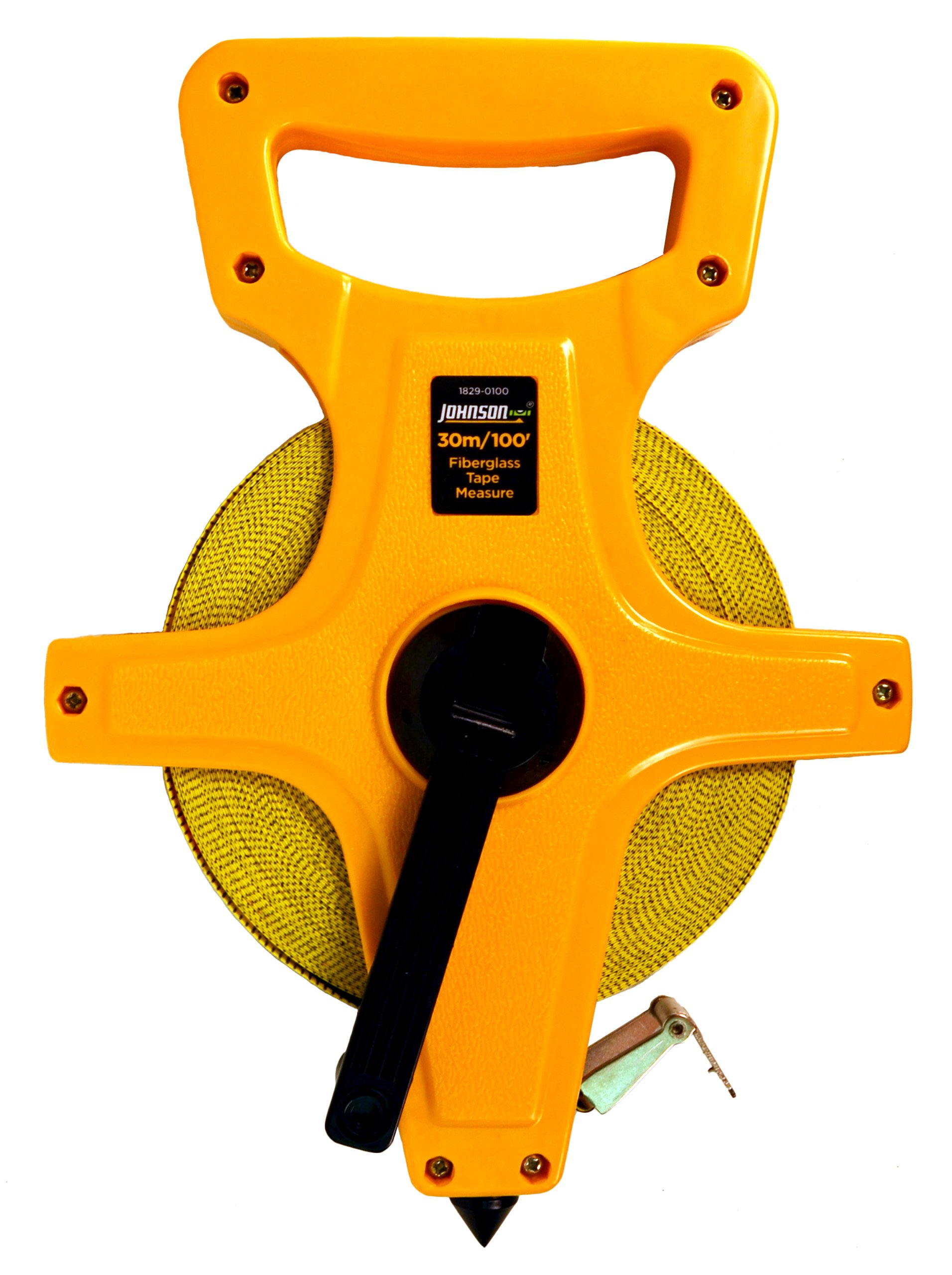 Johnson Level & Tool 1829-0100 Long Tape Measure Metric, 100-Feet by Johnson Level & Tool