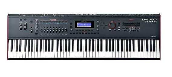 Amazon com: Kurzweil Music Systems Forte SE 88-Key Stage Piano with
