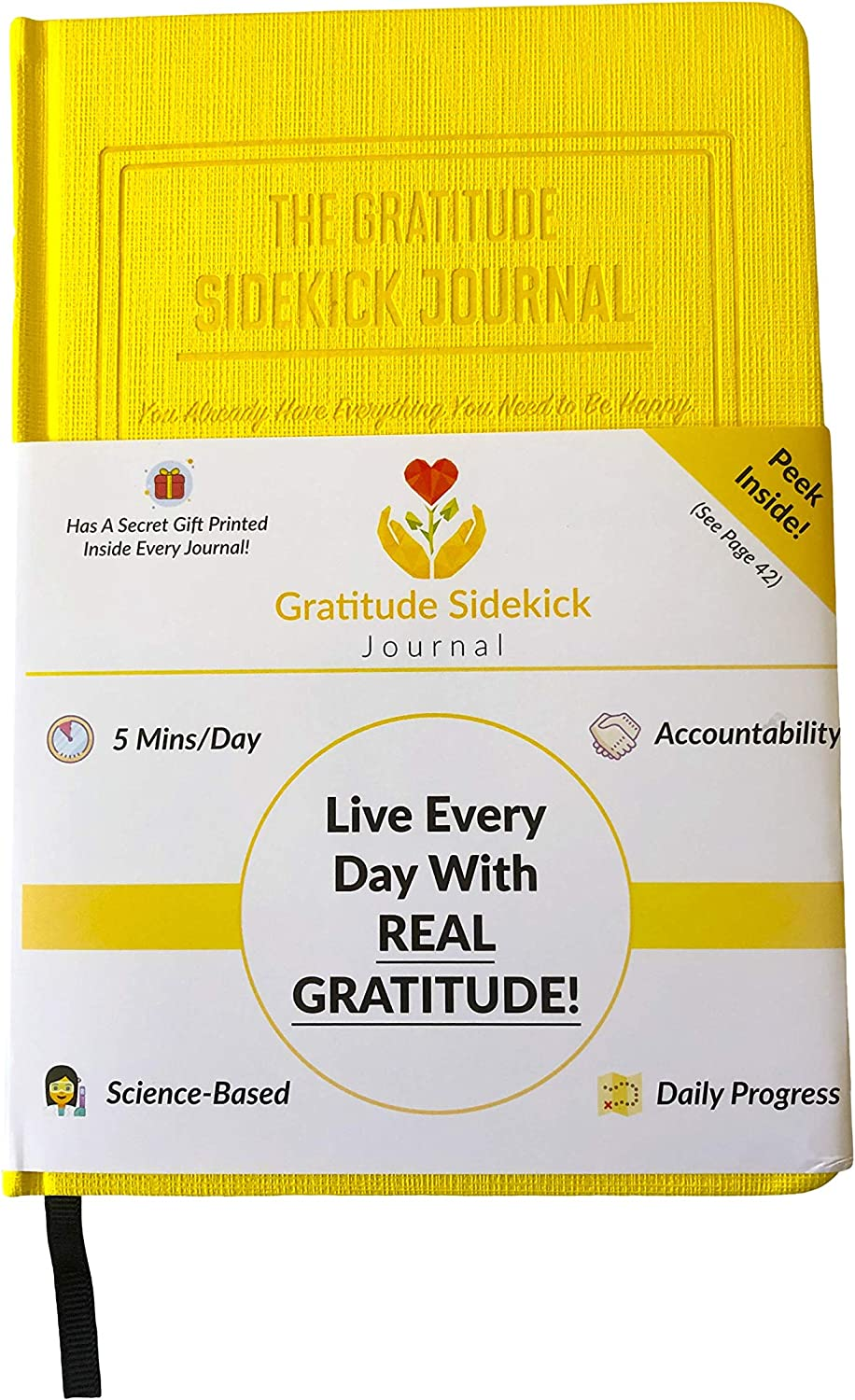 Free Amazon Promo Code 2020 for The Gratitude Sidekick Journal