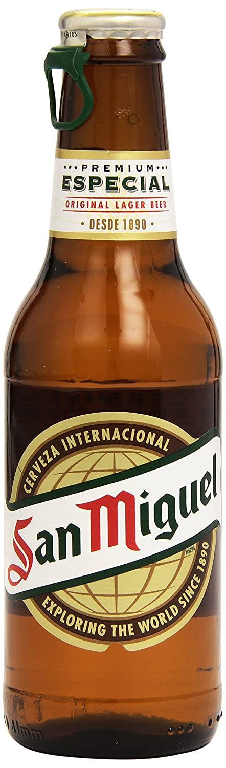 San Miguel Cerveza Especial - Pack de 12 x 250 ml - Total: 3000 ml: Amazon.es: Amazon Pantry