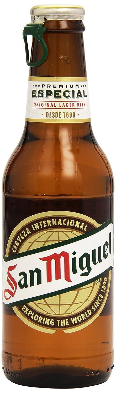 San Miguel Cerveza Especial - Pack de 12 x 250 ml - Total: 3000 ml: Amazon.es: Amazon Pantry