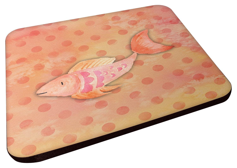 Carolines Treasures BB7387FC Orange Fish Watercolor Decorative coasters 3.5 Multicolor