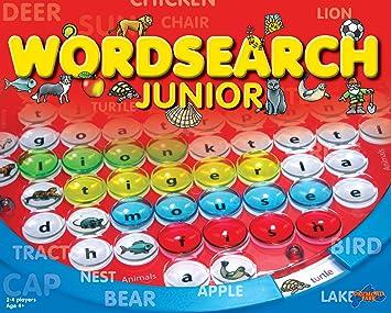 Wordsearch Junior - Juego Educativo, 4 Jugadores (Drumond Park 1610) (versión en inglés): Amazon.es: Juguetes y juegos