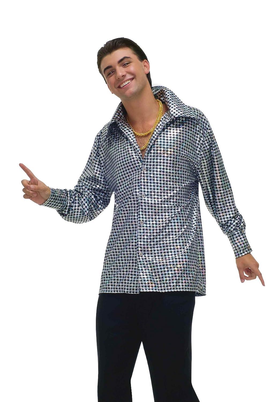 Hustle Hustle Hustle Hunk Disco Costume Shirt Adult Standard 9b6a47