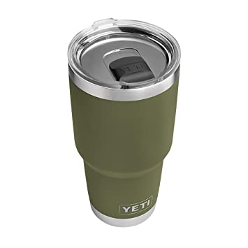 9c4a658c97f YETI Rambler 30 oz Stainless Steel Vacuum Insulated Tumbler w/MagSlider  Lid, Olive Green