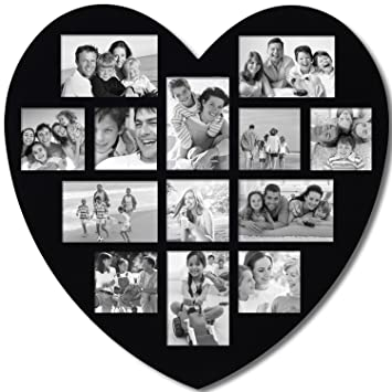 heart collage frames