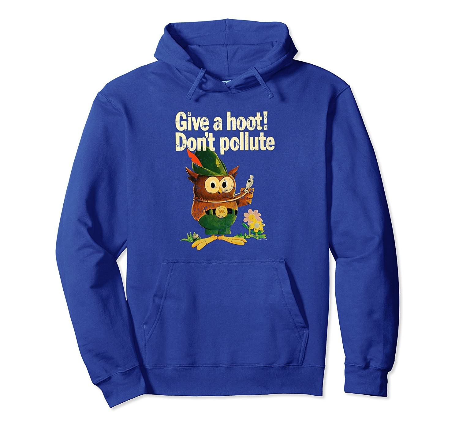 Woodsy Owl Give a Hoot - Don't Pollute-ah my shirt one gift