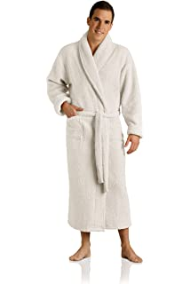 812784541a Plush Necessities Luxury Spa Robe - Microfiber with Cotton Terry ...