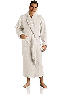 bdc333299c Plush Necessities Luxury Spa Robe - Microfiber with Cotton Terry ...