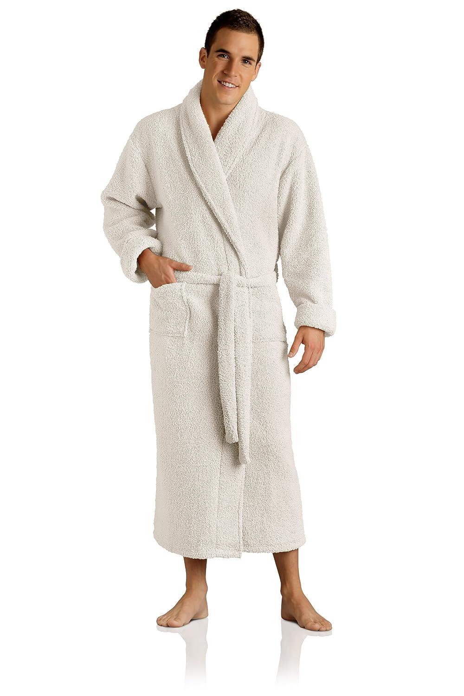 Amazon.com  Plush Microfiber Robe - Soft d0379eab8
