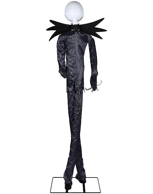 amazoncom spirit halloween 6 ft jack skellington animatronics decorations the nightmare before christmas health personal care