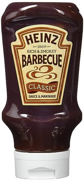 Heinz Salsa Clásico de barbacoa, 400 ml - [Pack de 15]