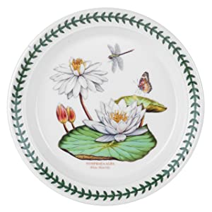 Portmeirion Exotic Botanic Garden Salad Plate Set with 6 Assorted Motifs