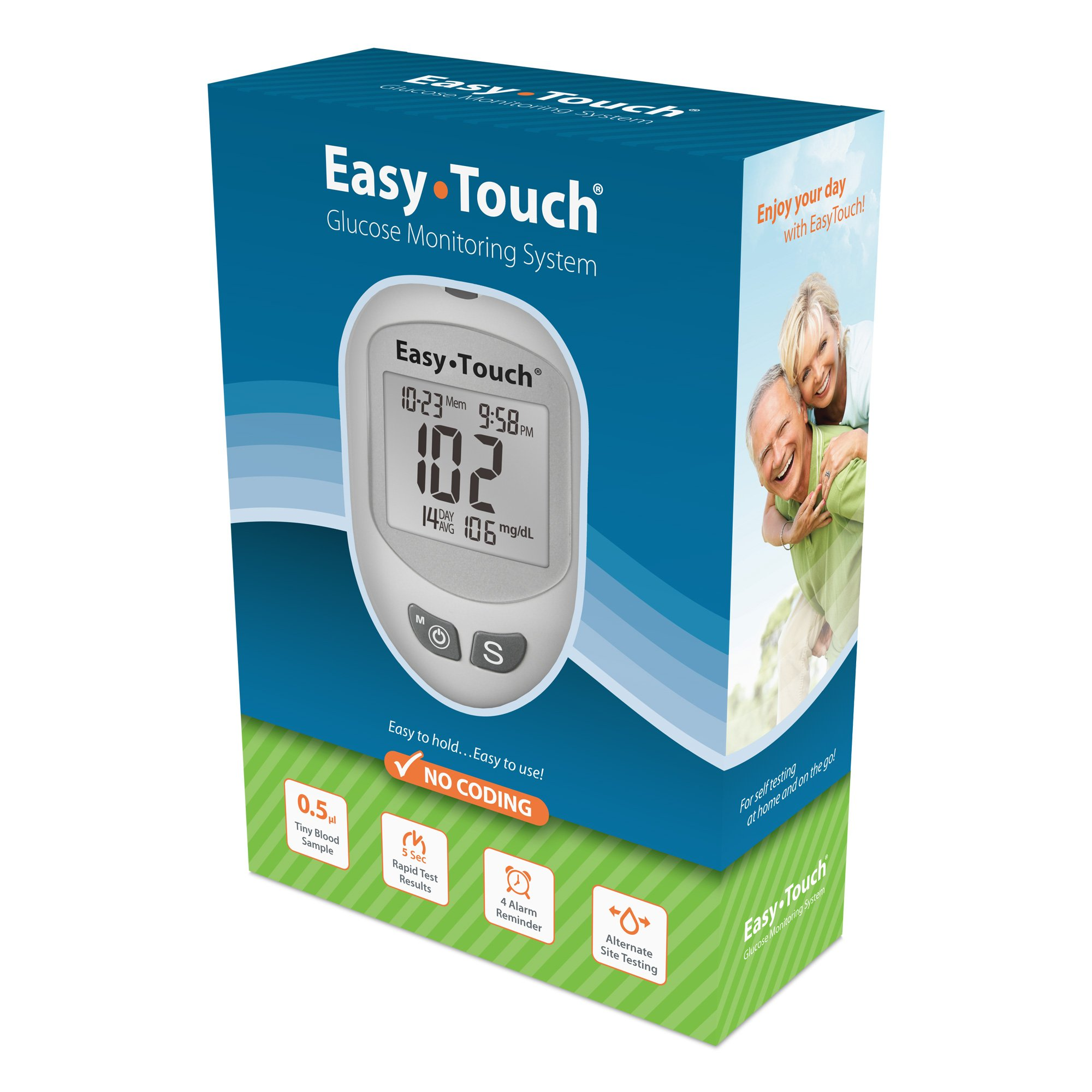 Amazon Com Easy Touch Healthpro Glucose Test Strips 50