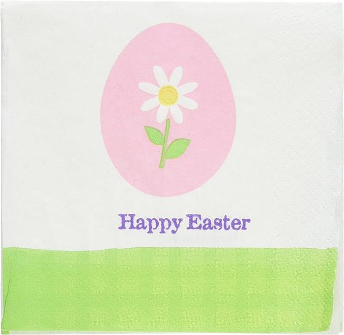 Amscan Easter Eggstravaganza Paper Beverage Napkins, 30 Ct. | Party Tableware