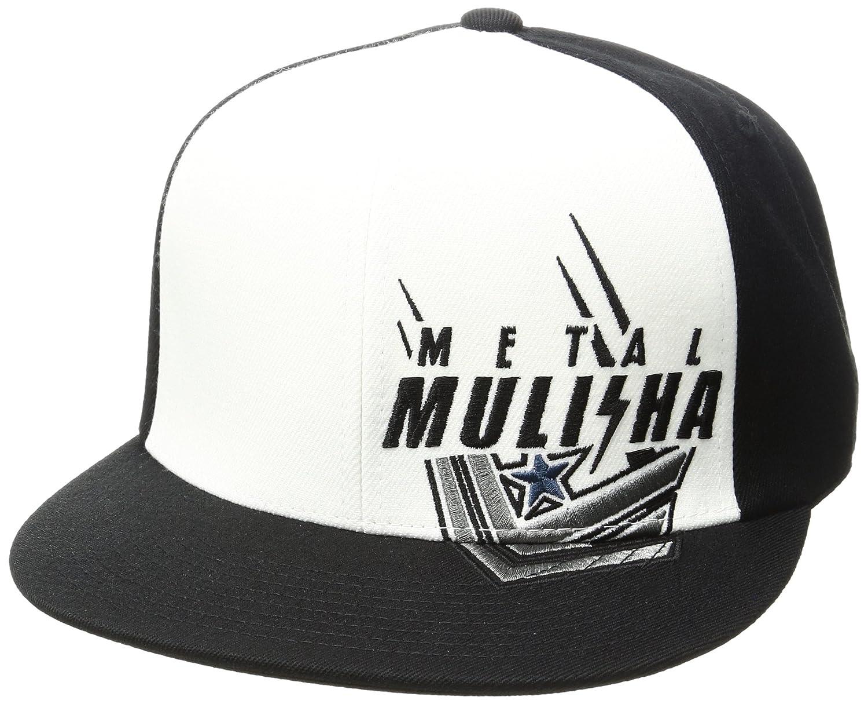 Gorra Flexfit Visera Plana Metal Mulisha Locked Negro-Blanco (L/Xl ...
