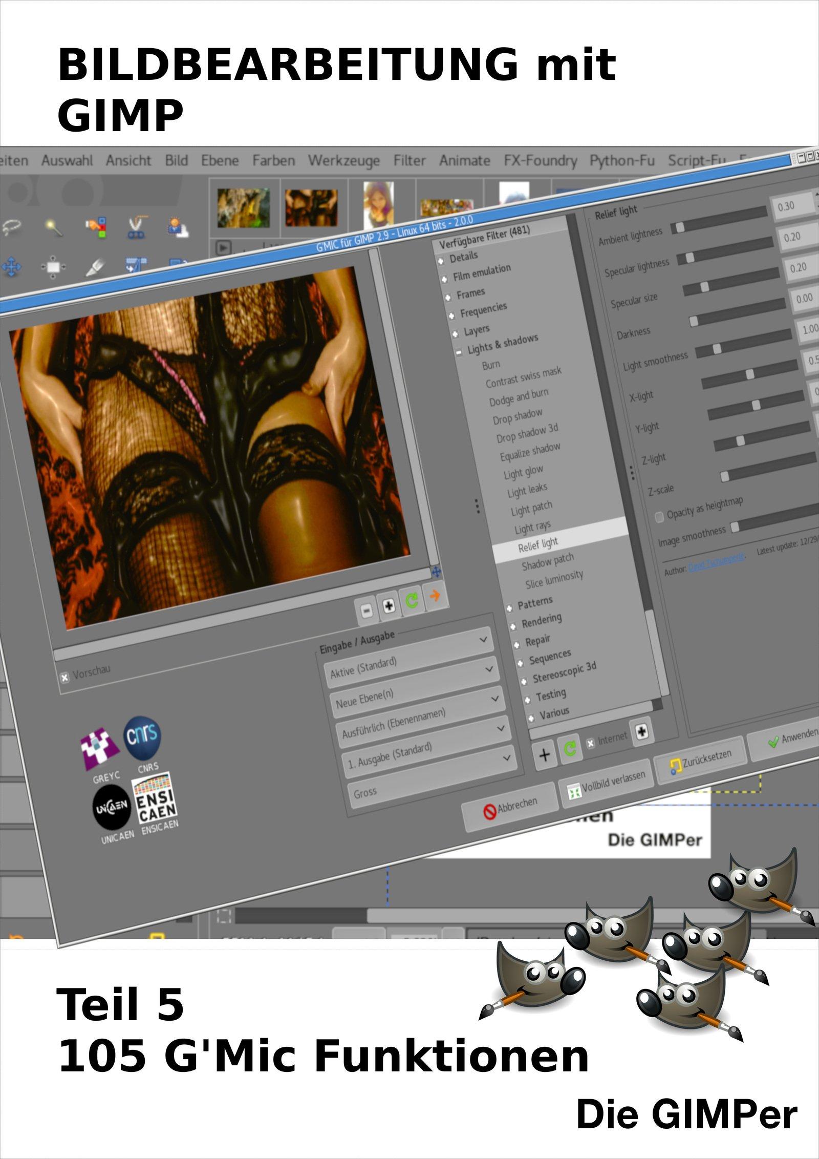 Bildbearbeitung Mit GIMP  105 G'MIC Tipps