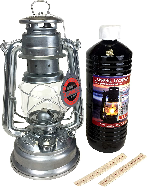 FEUERHAND ® tempête lanterne 276 lampe à pétrole mèche lanterne beaucoup de couleurs!