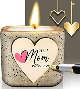 Mothers Day Gifts Candles for Mom Gifts, Handmade Scented Candles Gifts for Mom,Personalized Birthday Gifts for Women, Natural Soy Wax Aromatherapy Candle Gifts for Garden/Bathroom/Home Decor