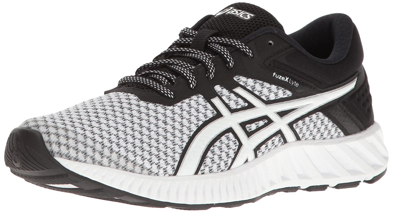 ASICS Women's Fuzex Lyte 2 Running Shoe B01GU3XK8E 9.5 B(M) US|White/Black/Silver