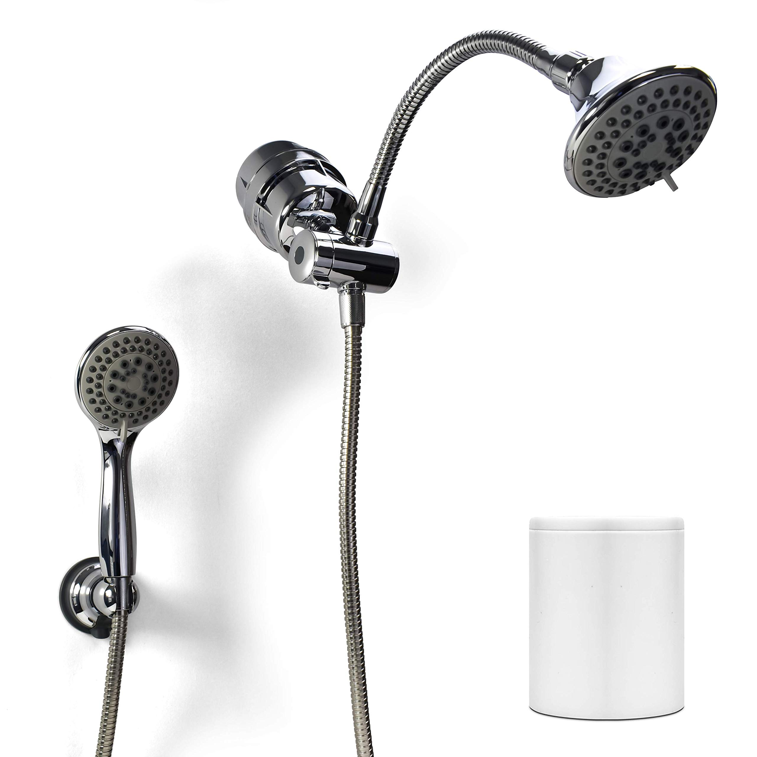 Propur Dual Head Chrome Shower Filter With ProMax Technology