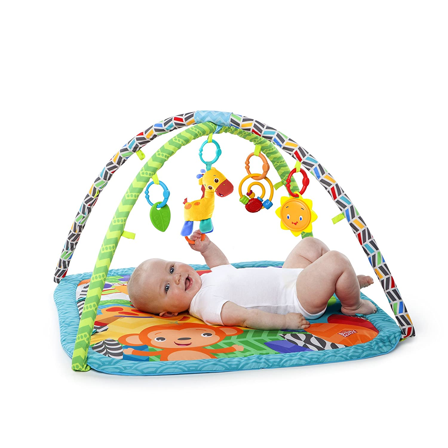Amazon Bright Starts Zippy Zoo Activity Gym Baby