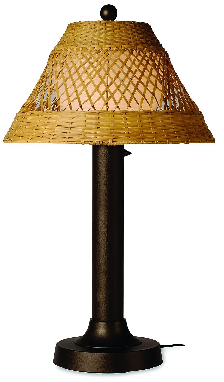 Amazon.com: Java 16257 86,36 cm bronce Lámpara de mesa con ...