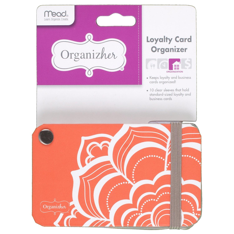 Mead Organizher Loyalty Card Organizer, 2-1/2'' x 4-1/4'' (WUN10138)