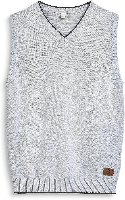 100/% Baumwolle ESPRIT Pullover mit Lama-Intarsie