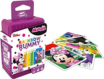 Shuffle 100240004 Minnie Mouse Rainbow Rummy: Amazon.es ...