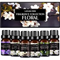 Lagunamoon - Set inicial de 6 aceites aromáticos para hacer jabón, velas, bombas de baño, difusión, masaje, masa viscosa…