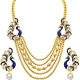 Sukkhi Collection Jewellery Sets for Women (Golden) (2913NGLDPP1700)