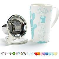 Taza de té (510ML) con infusor y tapa