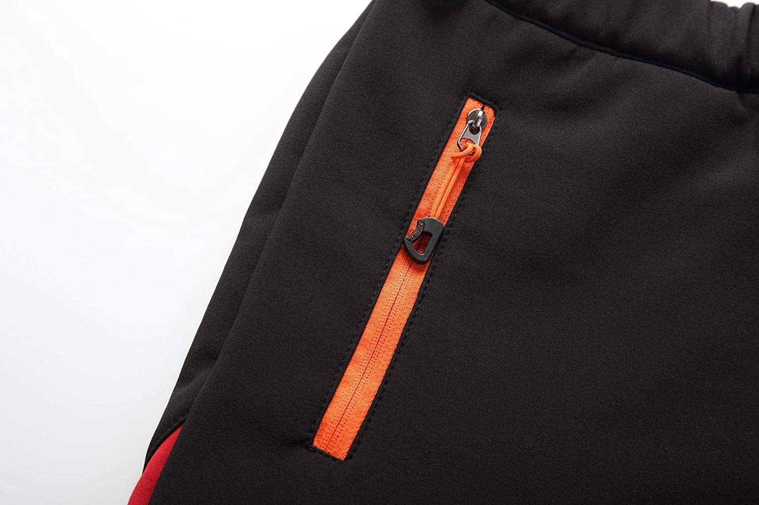 TOSKIP Mens Snow Pants with Reinforced Knees and Seat Warm Climbing Trousers