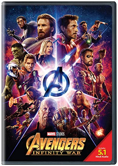 Amazon in: Buy Avengers: Infinity War - DVD DVD, Blu-ray