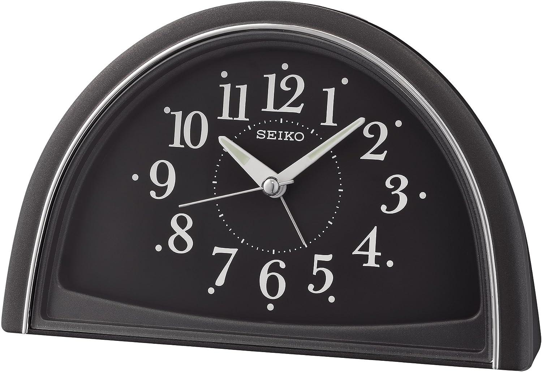 Seiko Wecker 11.1 x 10.3 x 5.6 Kunststoff schwarz