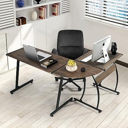 Homy Casa Inc. Mesa de Ordenador, 3 Combinaciones de Piezas en ...