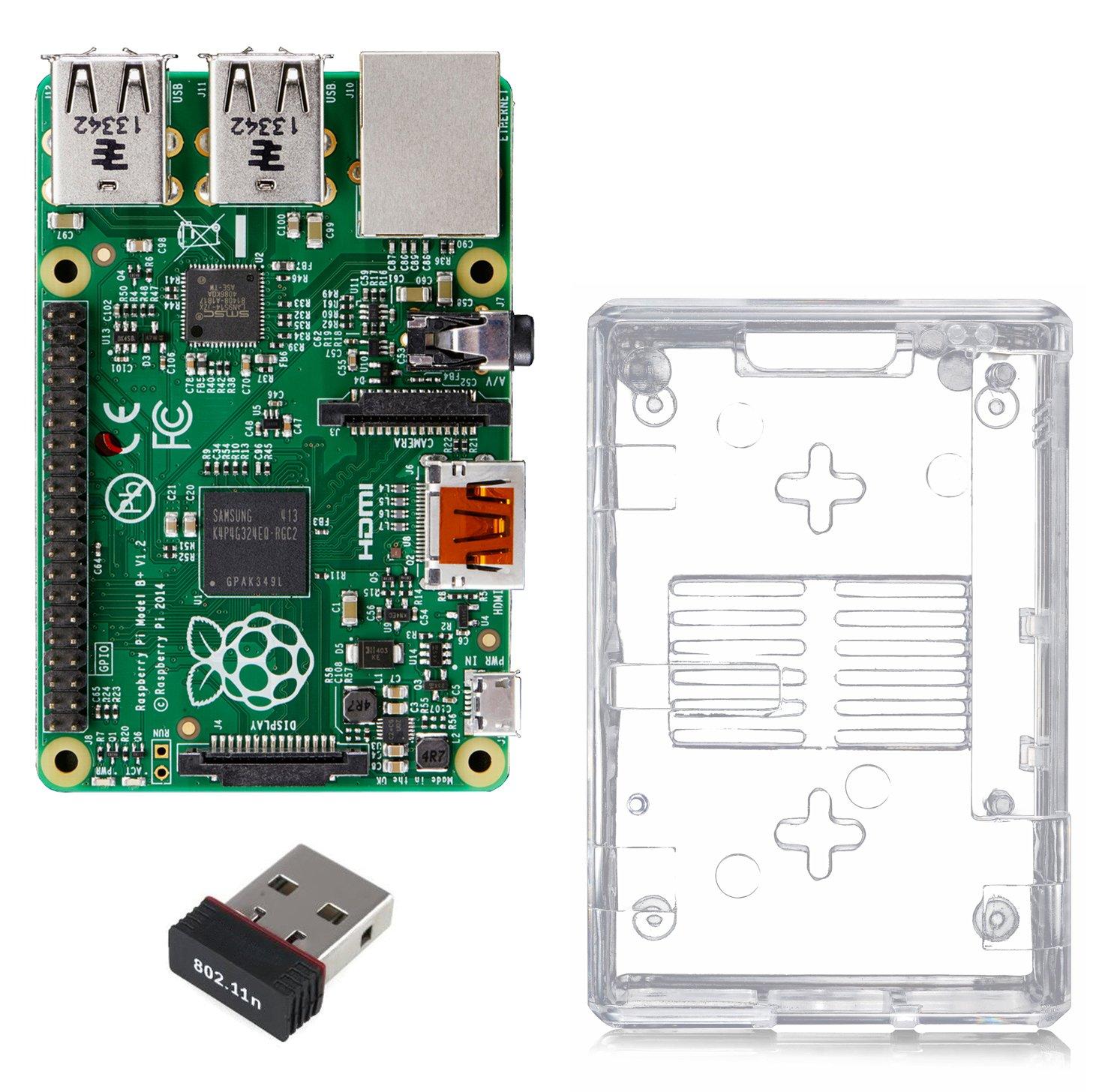 Raspberry Pi Model B + Kits Basic Starter Kit: Amazon.es: Informática