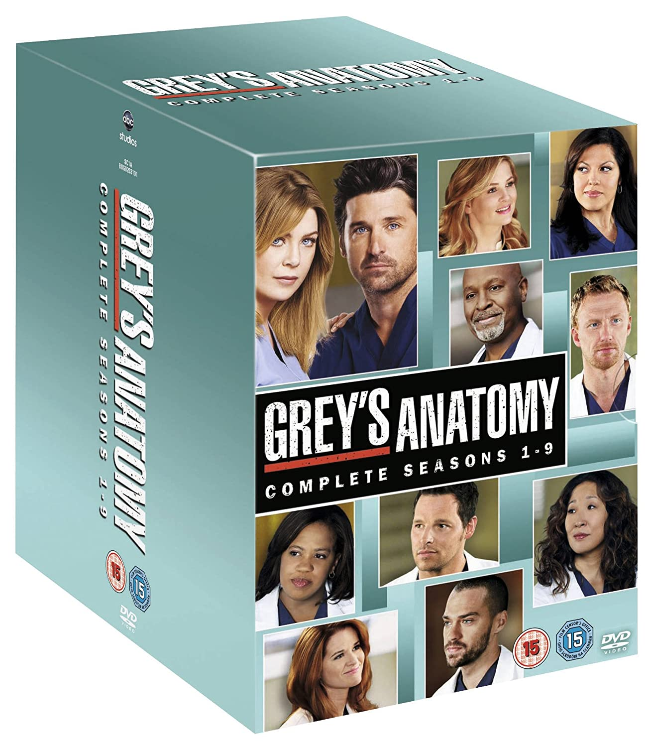 Grey\'s Anatomy - Season 1-9 Complete Box Set [DVD]: Amazon.co.uk ...