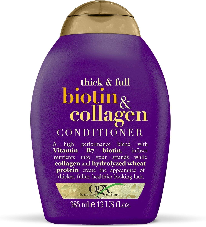 OGX - Acondicionador Biotina y Colágeno, 385 ml