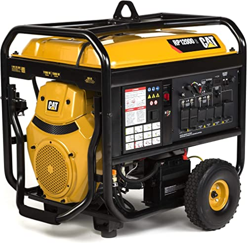 RP12000E 12000 Running Watts 15000 Starting Watts Gas Powered portable Generator 502-3700